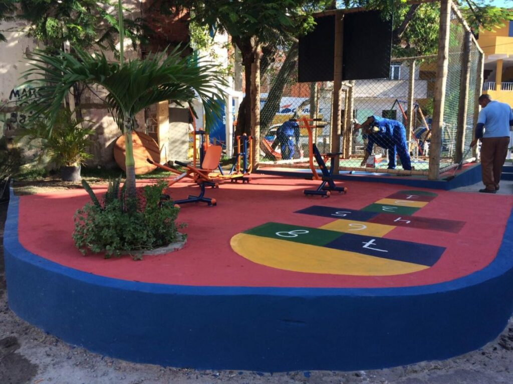 Photo of Emenda do parlamentar Igor Kannário revitaliza Praça da Cruz em Santa Cruz