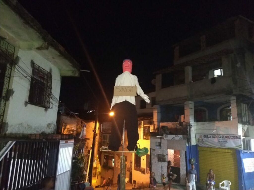 Photo of TRADIÇÃO! Queima de Judas ocorre neste sábado em ruas da Santa Cruz
