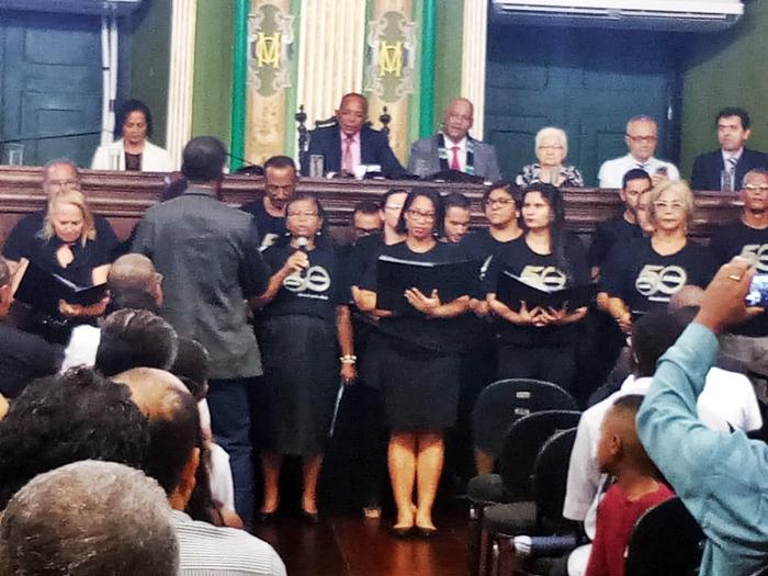 Photo of Vereador Suíca faz homenagem aos 50 anos da Primeira Igreja Batista de Pernambués