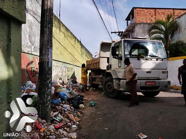 Photo of Prefeitura continua realizando ações de limpeza Urbana em Santa Cruz