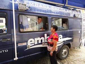 Photo of Unidade móvel da Embasa atenderá moradores de Santa Cruz e adjacências