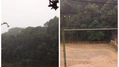Photo of Santa Cruz, Campo do Bariri fica alagado após forte chuva em Salvador