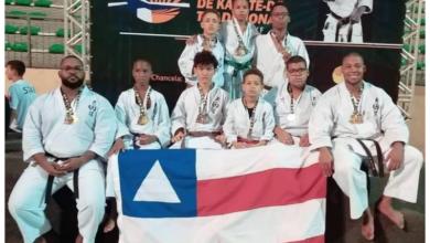 Photo of Atletas da Academia Bushido de Santa Cruz participam do Campeonato Brasileiro de Karatê na Paraíba