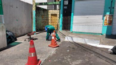 Photo of Prefeitura realiza benfeitorias na  limpeza Urbana no Bairro da Santa Cruz