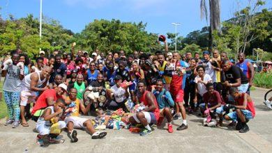 Photo of Aulão solidário reuniu campeões e entusiastas do boxe baiano no Parque da Cidade
