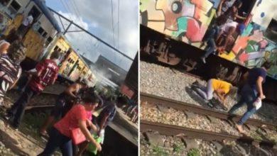 Photo of Após princípio de incêndio e explosão, apenas um trem funciona no Subúrbio de Salvador