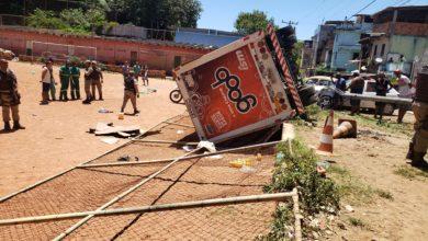 """Photo of Empresa de Bebidas """"lamenta o ocorrido e informa à comunidade que vai arcar com os reparos"""""""