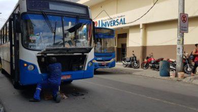 Photo of Ônibus quebra na Rua Onze de Novembro no bairro da Santa Cruz e deixa trânsito lento