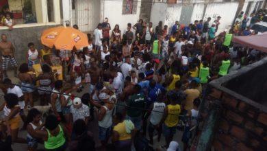 Photo of Lavagem movimenta ruas da Nova Constituinte subúrbio ferroviário de Salvador
