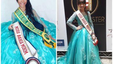 Photo of Garota do Bairro da Santa Cruz fica em 3º lugar no Miss Mister Brasil Mirim 2019