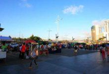 Photo of Obras BRT: ambulantes da praça em frente ao Shopping da Bahia são transferidos