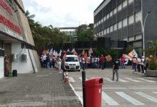 Photo of Servidores e sindicalistas fazem ato na AL-BA contra a PEC da Previdência
