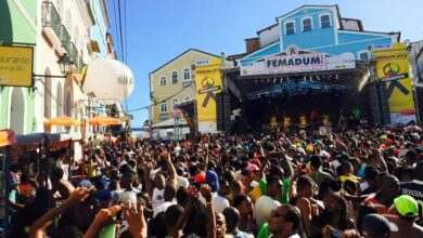 Photo of Pelourinho recebe festival do Olodum aberto ao público neste final de semana