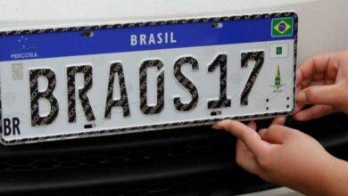 Photo of Placa Mercosul será obrigatória em todo Brasil a partir de 31 de janeiro