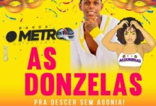 Photo of Banda O Metrô comanda Bloco As Donzelas no Carnaval do Nordeste 2020
