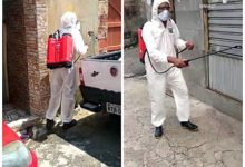 Photo of Moradores do Areal se reúnem e promovem higienização das ruas para combater o avanço do coronavírus