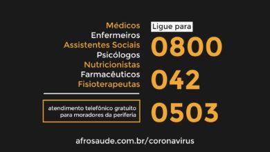 Photo of Coronavírus: TeleCorona da Periferia atende a população com profissionais da Saúde