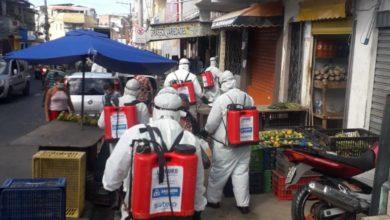 Photo of Coronavírus: ruas da Santa Cruz recebem higienização especial