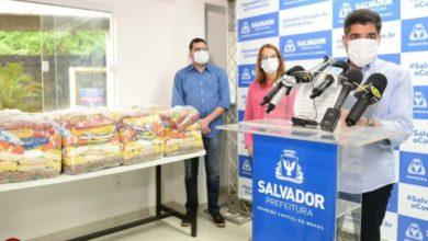 Photo of Enfrentamento Covid-19: Prefeitura distribui 453 itens de cesta básica aos assistidos da Apae