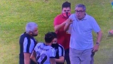 Photo of Presidente do Vitória parte para cima de meia do Ceará: 'Aqui você apanha'
