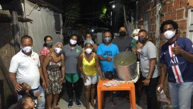 Photo of União Santa Cruz promove Sopão Solidário para moradores da localidade do Pé Preto no Nordeste de Amaralina